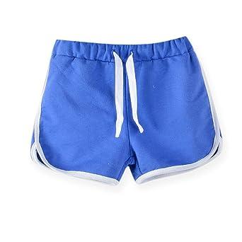 LaoZanA Kinder Jungen Mädchen Kordelzug Sommer Shorts Kurze Hose Hotpants