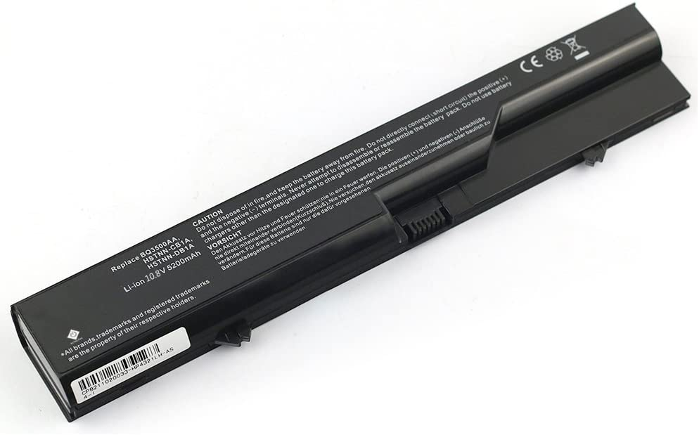 10.80V 4400mAh Li-ion Hi-quality Replacement Laptop Battery for HP 420 425 4320t 620 625 HP ProBook 4000 Series COMPAQ 320 321 325 326 420 421 620 621 Compatible Part Numbers: 587706-751 593572-001 BQ350AA HSTNN-CB1A