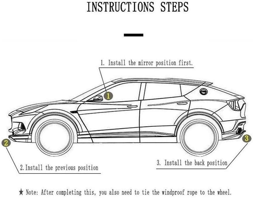 Interior Y Exterior For Cualquier Estaci/ón Impermeable Protector contra El Polvo del Encerado Jaxonn Home Cubierta para Coche Funda para Coche Audi TT Roadster Coupe Tela Oxford Coche De La Cubierta