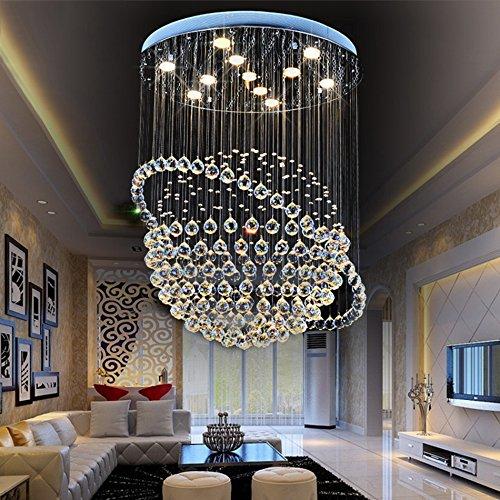 Moderne Led Kristall Regen Bead Sticky Kronleuchter, Beleuchtung ...
