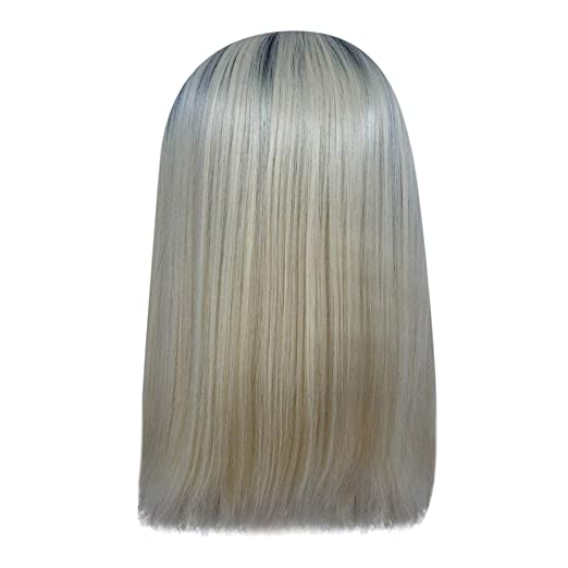 Amazon.com: HowLoo Bob Lace Front Wig 14 Inch Heat Synthetic ...