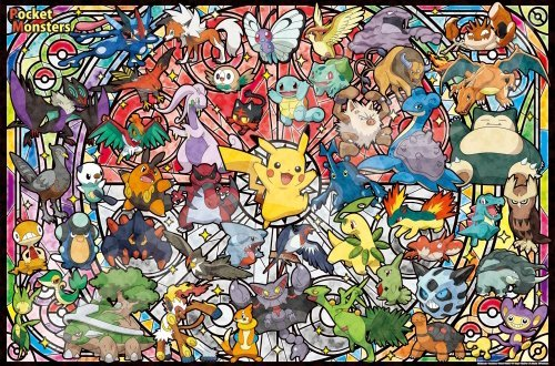 ensky 1000 Piece Art Crystal Jigsaw Puzzle Pokemon Best Partner (50 x 75 cm)