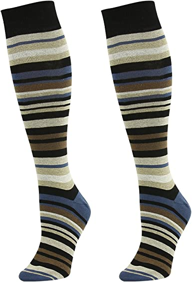 Women/'s Plaid Socks 6 Pairs Green White Grey Purple Pink NEW Cotton Yellow