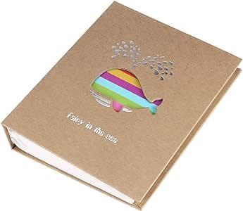 Álbum de fotos de desenho animado Amosfun para fotos de livros de bebê família amigos presente (cervo), Picture 2, 22.6 * 18.3 * 5.2CM