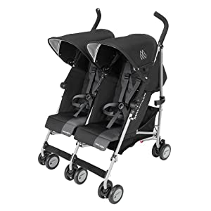 Maclaren Twin Triumph (Black/Charcoal)