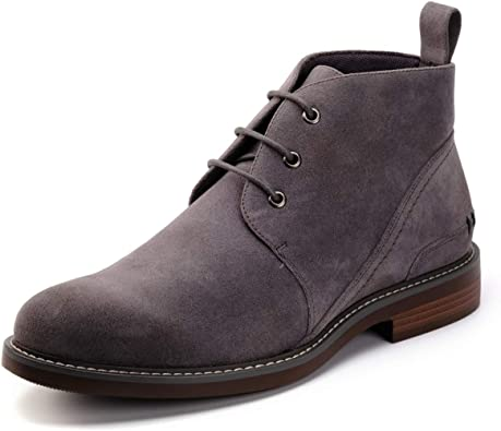 Men/'s Casual Dress Leather Chelsea Chukka Suede Lace Up Ankle Boots Desert Shoes