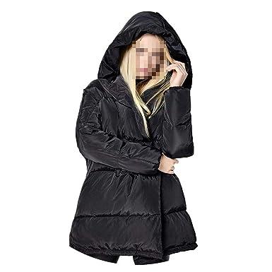 Amazon.com: Chaqueta de invierno para mujer, 90% plumón de ...