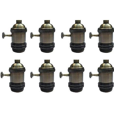 Soporte de lámpara industrial vintage Edison E27 de Jeffrien ...