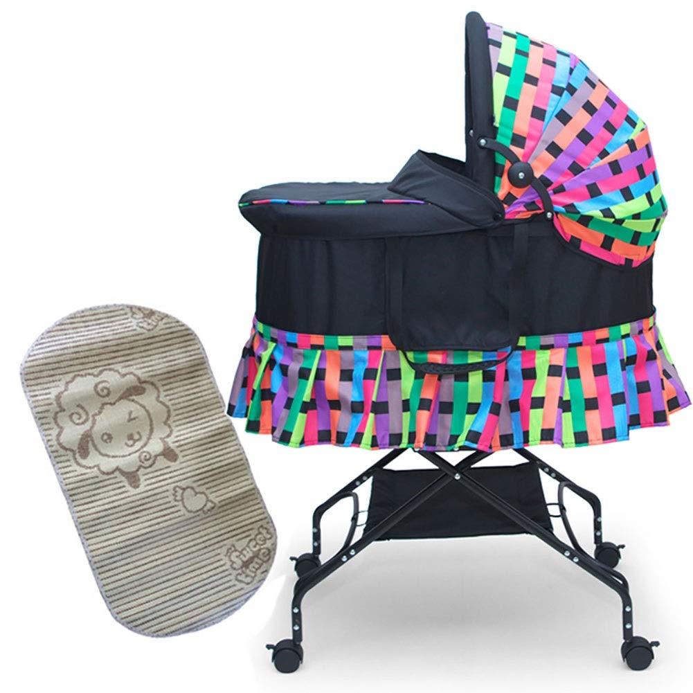 Amazon.com: HLR-Crib Cuna de viaje portátil para coche ...