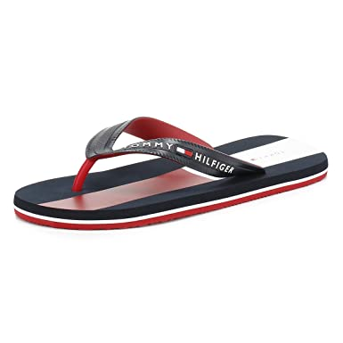e040cfa77 Tommy Hilfiger Men s Lane 2R Synthetic Flip Flop Midnight-Midnight-7