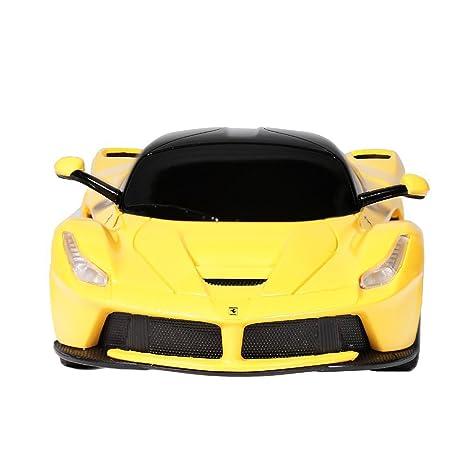 RASTAR 1/24 Scale Ferrari LaFerrari Radio Remote Control Sport Racing Car  RC,Yellow
