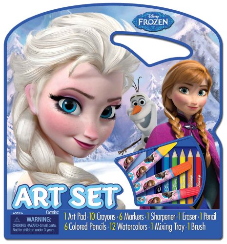 6 Trays Wholesale Paint (Bendon Disney Frozen Character Art Tote Activity Set)