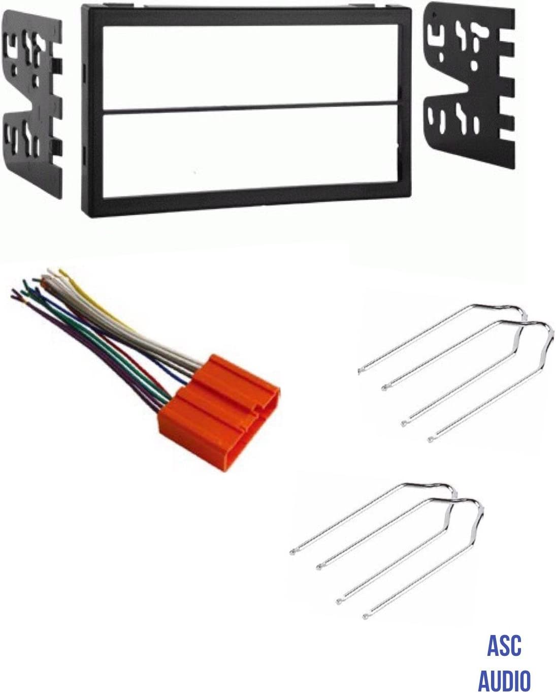 ASC Car Stereo Dash Install Kit, Wire Harness, and Radio Tool for  Installing a Double Din Aftermarket Radio for Some Mazda Vehicles    Important Read ...