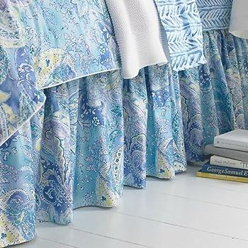 Ralph Lauren Jamaica Blue King Bedskirt