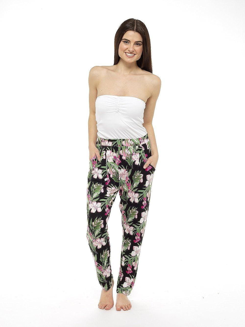 Harem Pants for Women Bohemian Clothing Ali Baba Aladdin Cuffed Trousers Yoga Womens Lightweight Pantaloons