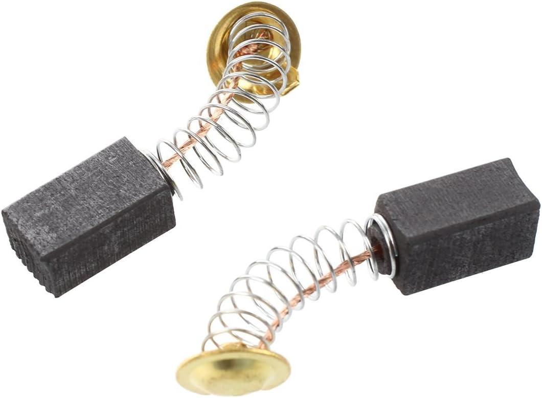 Noblik 10 pares de 6,5 x 7,5 x 13 mm herramienta electrica cepillos de carbono 999021 para