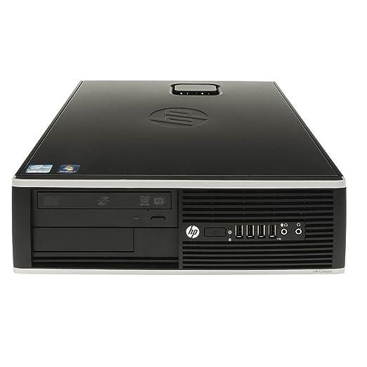 HP Elite 8200 Sff - Ordenador de mesa (Intel Core I7-2600 Quad Core, 8GB RAM,HDD de 500 GB DVD, COA WINDOWS 7 PRO Original) Negro: Amazon.es: Electrónica