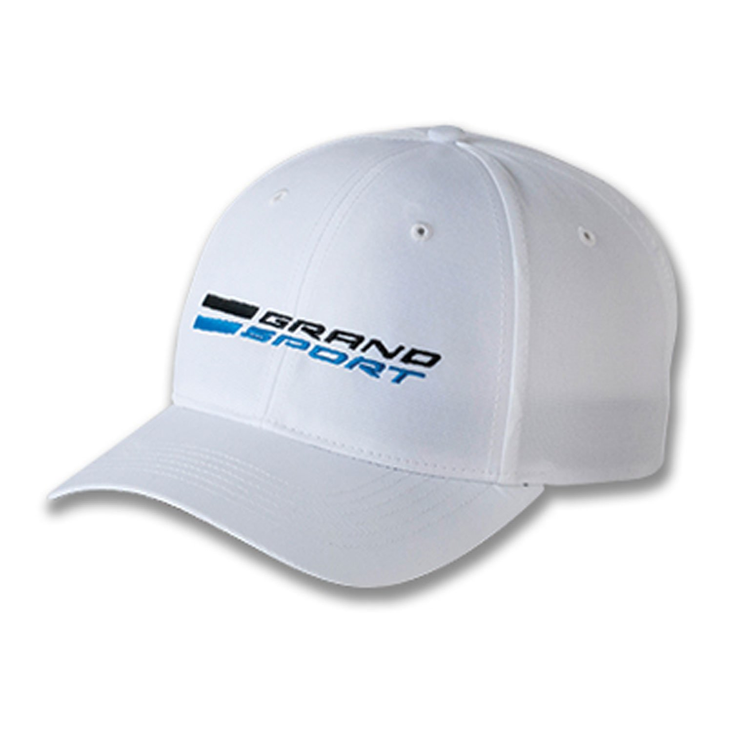 Gregs Automotive Corvette C7 Grand Sport White Logo Hat Cap Chevrolet Bundle with Driving Style Decal
