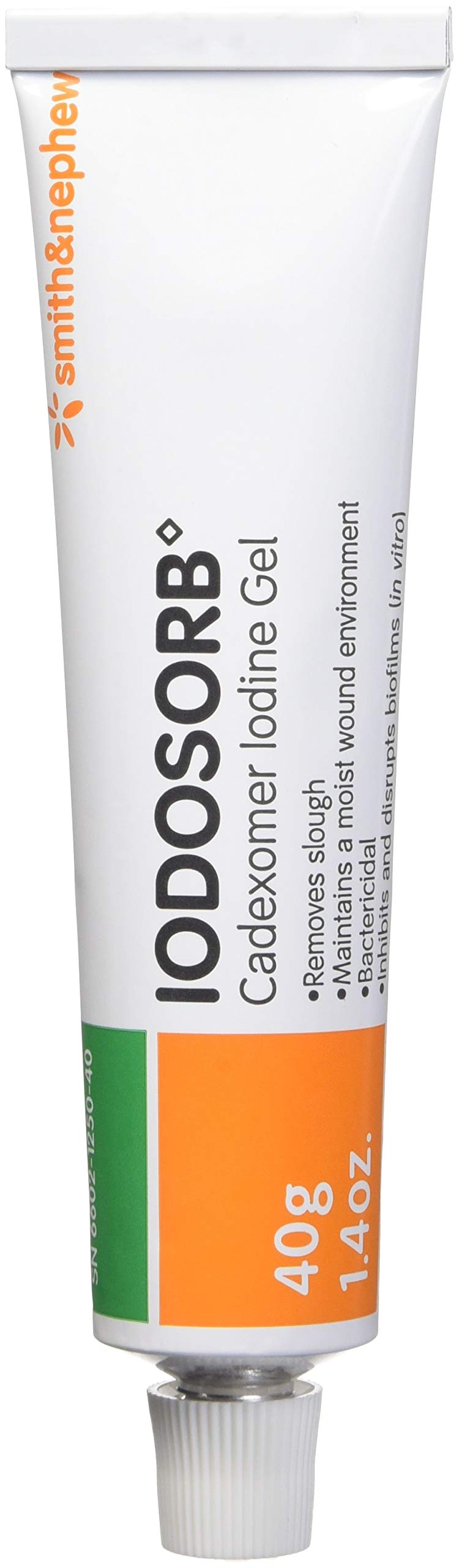 Smith and Nephew Iodosorb Gel Tube 40g 6602125040 by Iodosorb