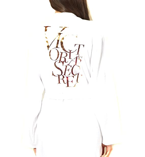 Victorias Secret - Bata - para mujer blanco Oro Blanco S