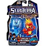 Slugterra, Chiller and Fire Elemental Mini Figures