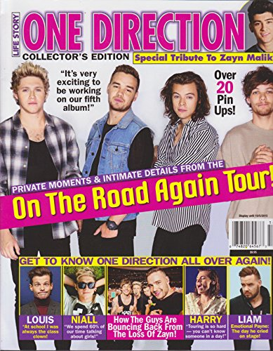 Life Story One Direction On the Road Again Tour Magazine