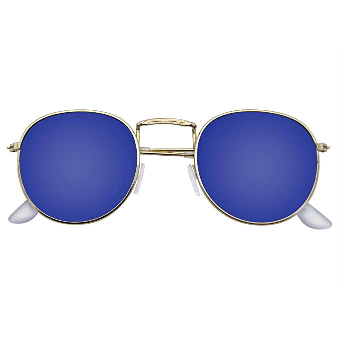Amazon.com: Emblem Eyewear - Gafas de sol redondas para ...
