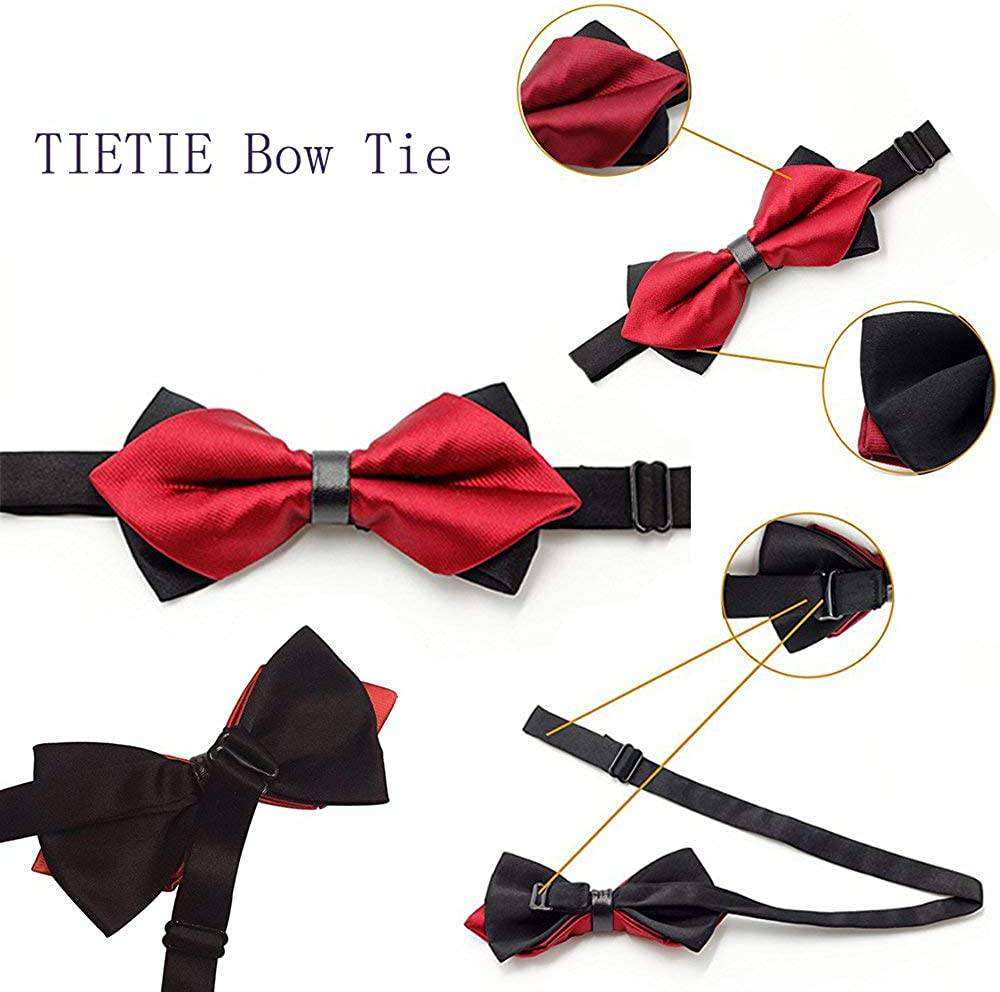 Mens//Boys Casual And Formal Bow Tie for Business Wedding//Birthday Party