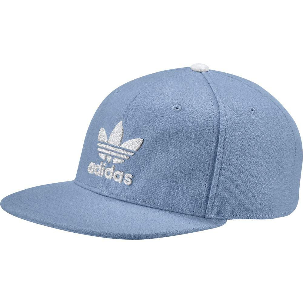 Adidas Women s Trefoil Heritage Snapback Cap - Ash Blue White 73a56559cfd