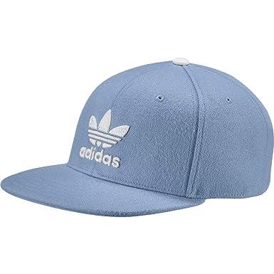 Adidas Women s Trefoil Heritage Snapback Cap - Ash Blue White c454b017a35a