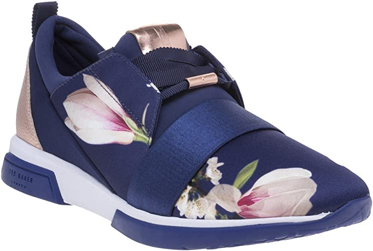 Ted Baker Cepa Trainers Navy 7 UK