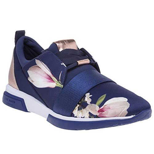 5c61e038a241 Ted Baker Cepa Trainers Navy 4 UK  Amazon.co.uk  Shoes   Bags