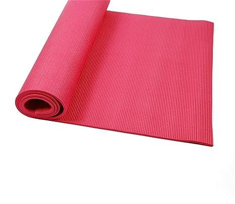 Yoga Mat - Colchoneta de yoga, color Rojo: Amazon.es: Hogar
