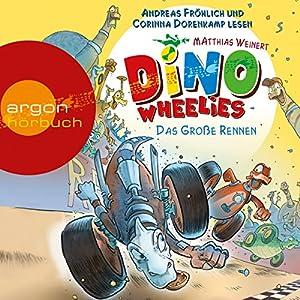 Das große Rennen (Dino Wheelies 2) Hörbuch