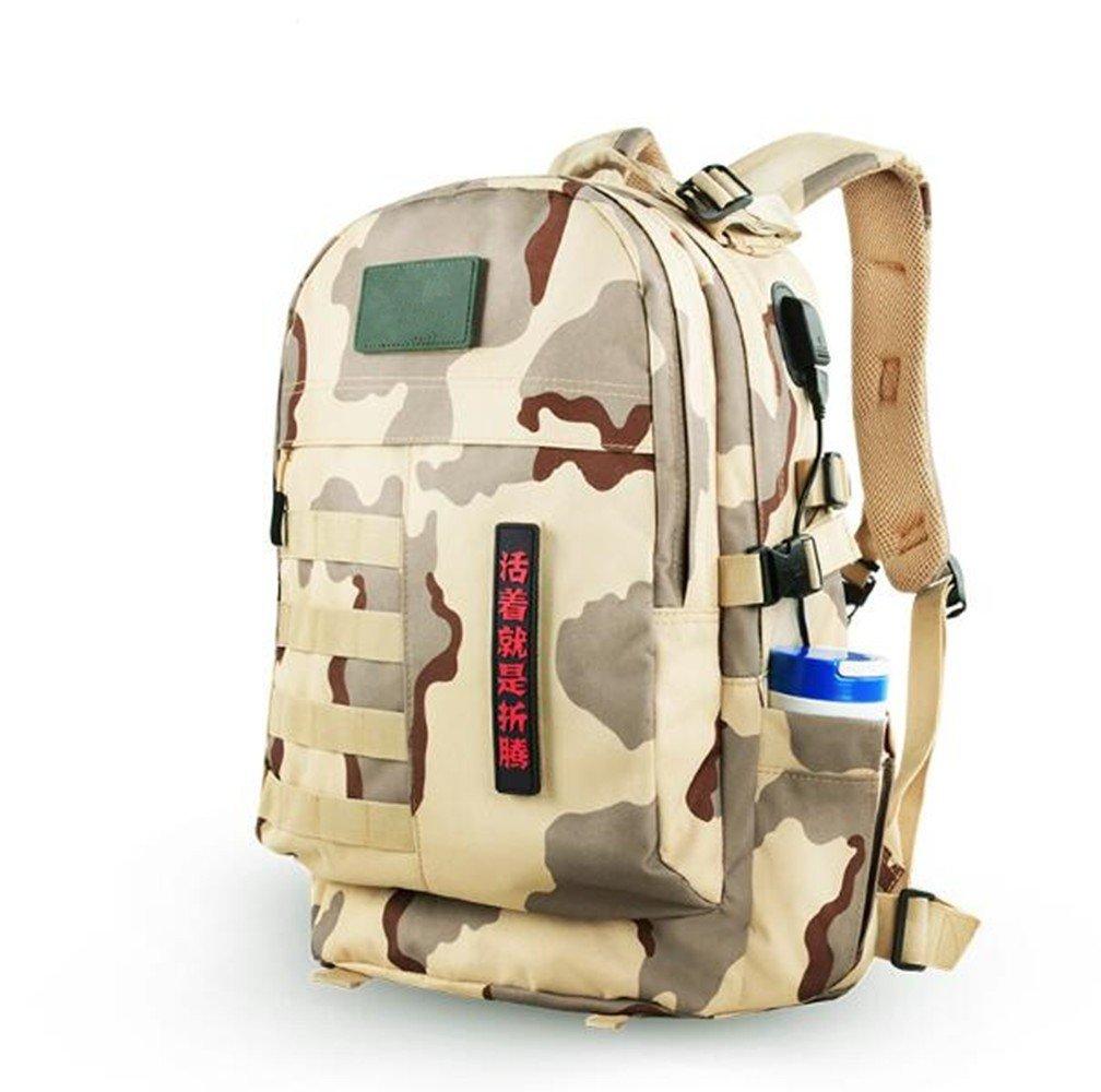 SHULING Outdoor Bergsteigen Tasche Männer und Frauen Camouflage Tasche Rucksack Multi-Funktions-Wasserdichte Reise Wandern Rucksack