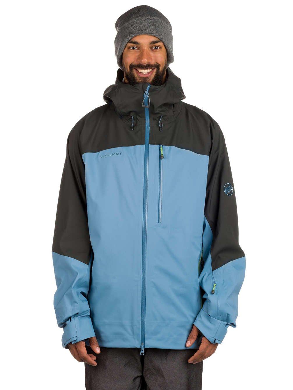 [マムート] Alvier Tour HS Hooded Jacket Men アルヴィアー ツアー HS フーデッド ジャケット 5950/cloud-graphite 1010-21620 XL B072C4KHW7
