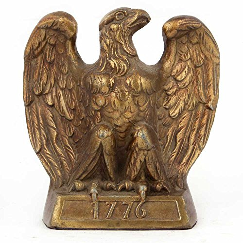 Brass Eagle Bookends - 4