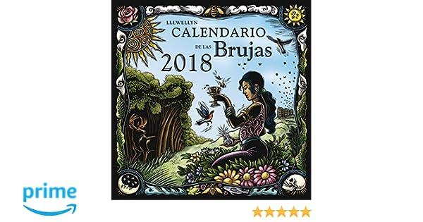 Calendario de las brujas 2018 (Spanish Edition): Llewellyn ...
