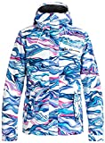Roxy Snow Junior's Jetty 3n1 Regular Fit Snow Jacket, Marble, S