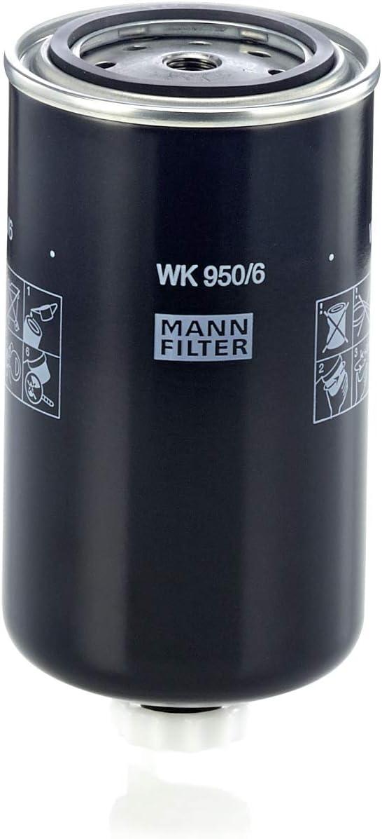 Mann Filter WK950/6 Spin-On Fuel Filter