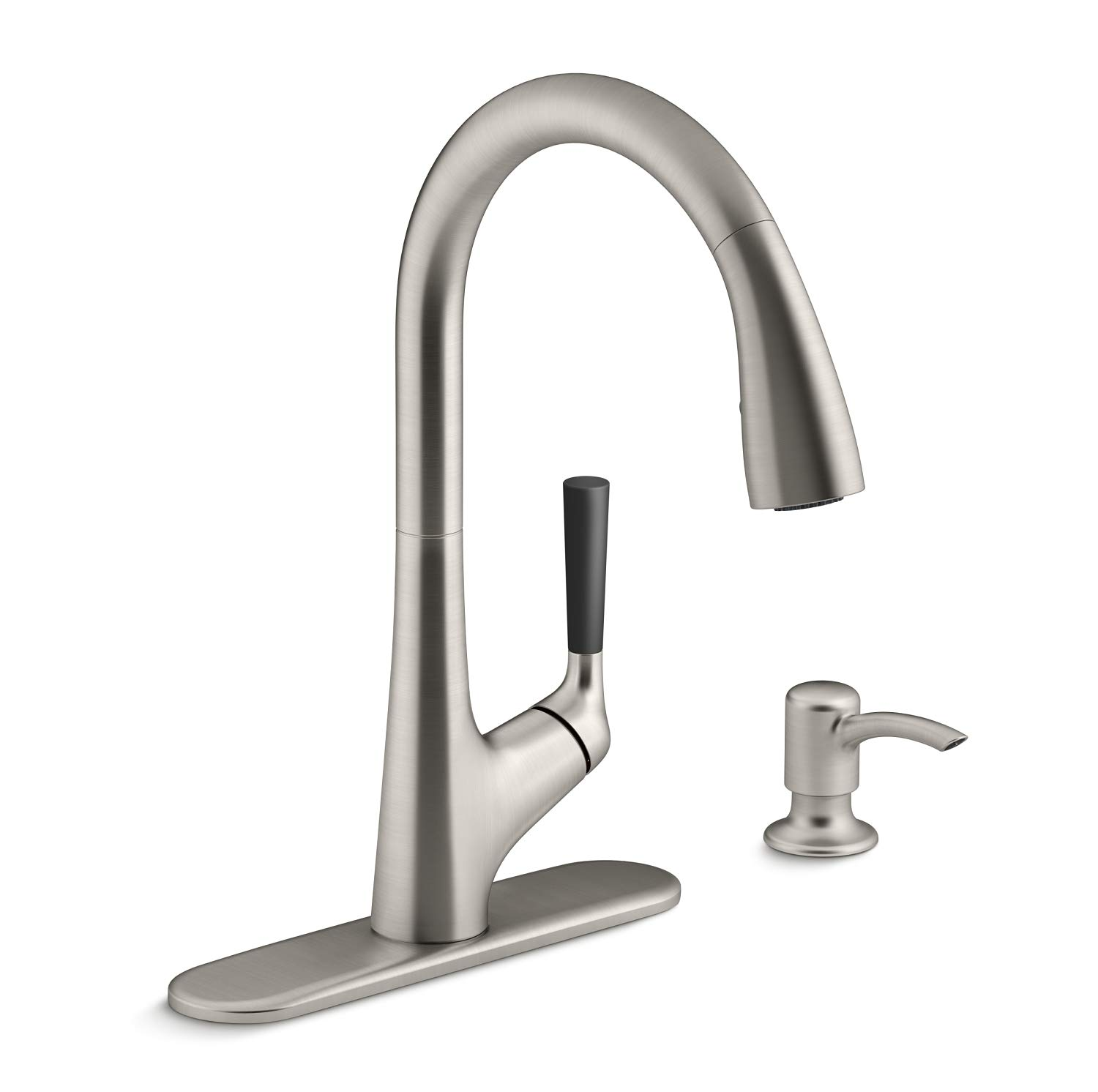Kohler 562in Sd Vs Malleco Pull Down Sprayer Kitchen Faucet With Multi Function Spray Head Sweep Spray And Docking Buy Online In Bulgaria At Desertcart