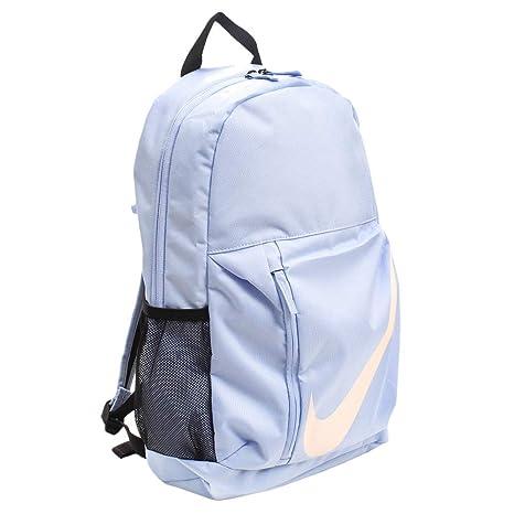 Amazon.com   Nike Youth Elemental Backpack, Aluminum Black Crimson ... 01d54384fb