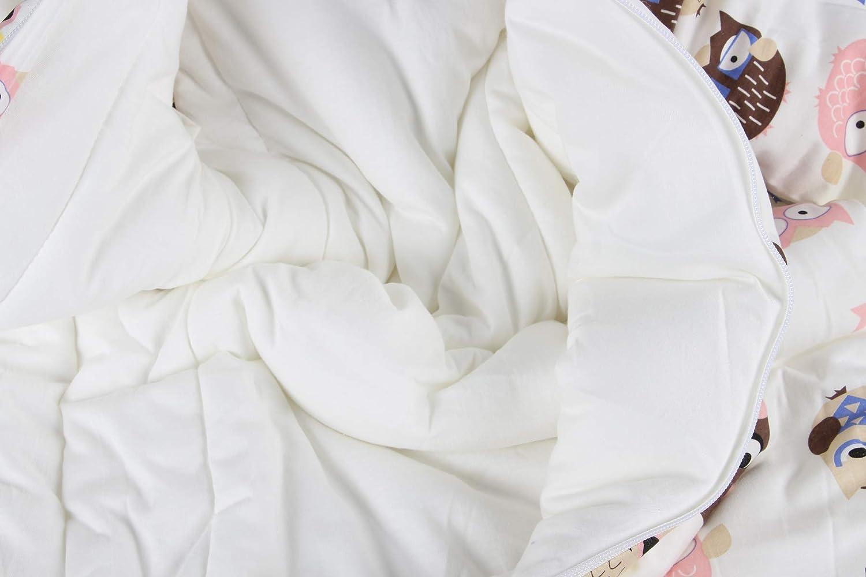 diferentes tama/ños desde el nacimiento hasta los 4 a/ños Tierwelt Talla:S//3-6Monate saco de dormir de algod/ón bio 3,5 tog Saco de dormir para beb/é de invierno saco de dormir para ni/ños