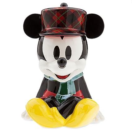 Disney Cookie Jars Amazon Com >> Disney Mickey Mouse Holiday Cookie Jar