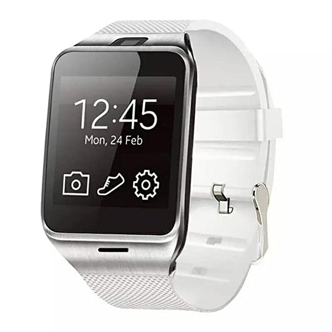 Blues Ter Cool GV18 Bluetooth Smart Watch - Blanco GSM NFC ...