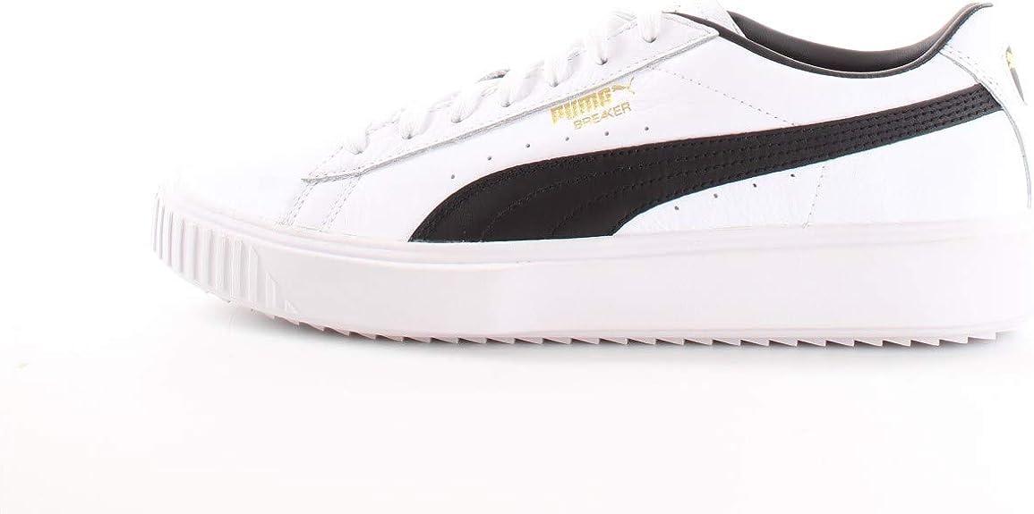 Puma Breaker LTHR White Black 366078 02