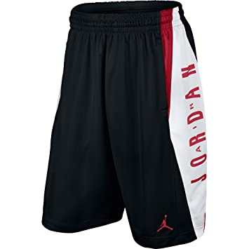 c8cf7375edf Nike Mens Jordan Takeover Basketball Shorts Black/Gym Red/White 724831-011  Size Large, Shorts - Amazon Canada