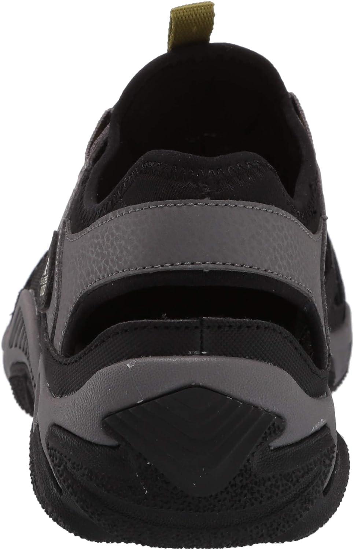 Skechers Mens 204018 Outline-Trago Outdoor Sandal Black