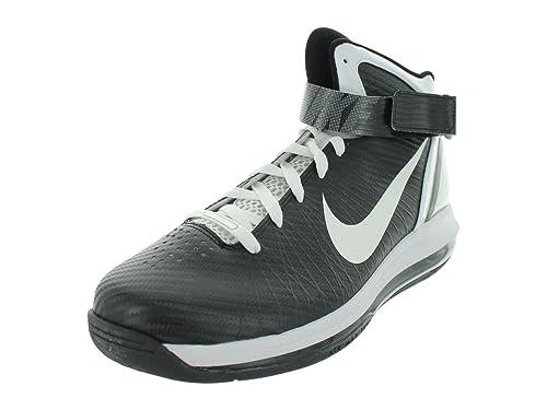 082f64fb1151 Nike Men s AIR MAX Hyperdunk 2010 TB Basketball Shoes 11 (Black White-Metallic  Silver)  Amazon.ca  Shoes   Handbags