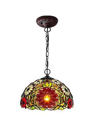 Zyear Led Kronleuchter Beleuchtung Red Sunflower Mini Pendelleuchten
